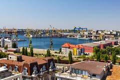 Constanta shipyard Royalty Free Stock Photo