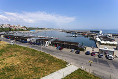 Constanta Tomis Port Royalty Free Stock Photography