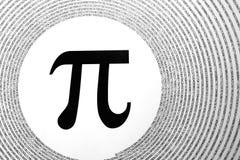 A constante matemática Pi Foto de Stock