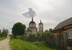 Constantim e Helen Church antes da restauração Imagem de Stock