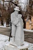 Constantin BrâncuÅŸi historiska monument i Gorj County Fotografering för Bildbyråer