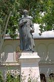 Constantin Brancoveanu雕象在布加勒斯特,罗马尼亚 库存图片
