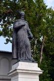 Constantin Brancoveanu,布加勒斯特,罗马尼亚雕象  库存图片