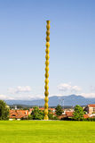 Constantin Brancusi Infinite Column Targu Jiu Royalty Free Stock Photo