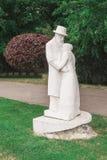 Constantin Brancusi, public statue Stock Photo