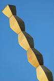 Constantin Brancusi's Endless Column Stock Image