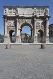 Constantin utfärda utegångsförbud för i Rome Arkivbild