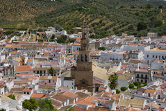 Constantina, an Andalusia village Royalty Free Stock Photo