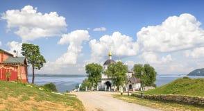 Constantina y Helen Church Sviyazhsk, Rusia Fotos de archivo