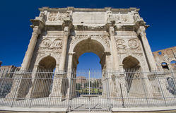 Constantine Arch. The Magnifecence of Roman Architecture Stock Images