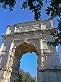 Constantine arch royalty free stock images