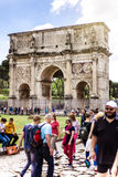 Constantine Arch in Rome, Italy. Stock Photography