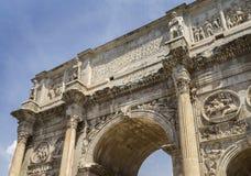 Constantine arch & x28;Arco di Costantino& x29; - Stock Photo