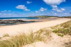 Constantine Bay Cornwall England imagen de archivo