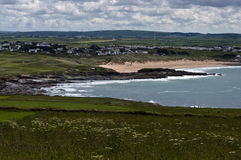 Constantine bay cornwall Royalty Free Stock Photo