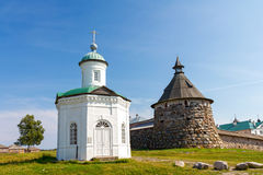 Constantine chapel, Solovetsky Islands (Solovki) Stock Images