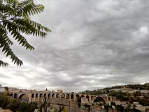 Constantine, das bridg von sidi rached stockfoto