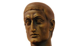 Constantine das große in Viminacium Stockbild