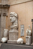 Constantine grand Roman Emperor Image stock