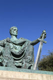 Constantine the Great Statue in York Royalty Free Stock Photo