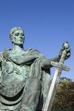 Constantine the Great Statue in York Stock Photography