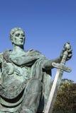 Constantine la grande statue à York Photographie stock