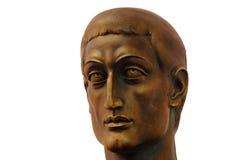 Constantine le grand dans Viminacium Image stock