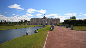 Constantine Pałac, Strelna. Rosja zdjęcia stock