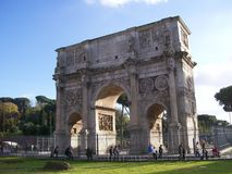 Constantine's arch Royalty Free Stock Photo