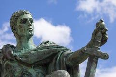 Constantine Statue à York Photographie stock