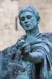 Constantine Statue i York Fotografering för Bildbyråer