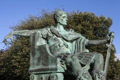 Constantine Wielka statua w Jork Zdjęcia Royalty Free