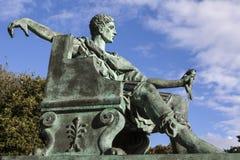 Constantine Wielka statua w Jork Zdjęcie Royalty Free