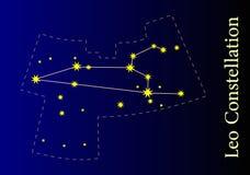 Constelação Foto de Stock