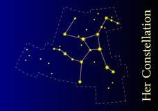 Constelação Imagens de Stock Royalty Free