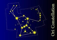 Constelação Fotografia de Stock
