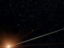 Constelação, cruz do sul, cometa ilustração do vetor
