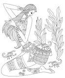 Constelação do Scorpio ilustração royalty free