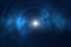 Constelação do universo com a nebulosa da galáxia das estrelas ilustração do vetor