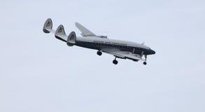 Constelação super de Breitling Lockheed C-121C Foto de Stock