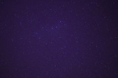 Constelación de Ursa Major en cielo nocturno Fotografía de archivo