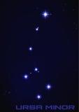 Constelación de Ursa Minor Fotografía de archivo libre de regalías