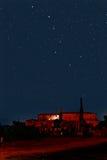 Constelación del cazo grande fotos de archivo