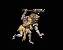 Constelación el Hércules el guerrero Foto de archivo libre de regalías