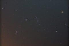 Constelación Orion Fotos de archivo