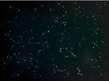 constelaciones ilustración del vector