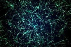 Constelaciones de líneas y de puntos imágenes de archivo libres de regalías