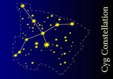 Constellatie Stock Foto