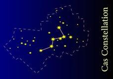 Constellatie Stock Foto's