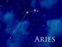 Constellation Aries Stock Photos